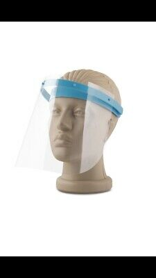 Full Face Safety Shield / multiple orders / Protection from Splashes
