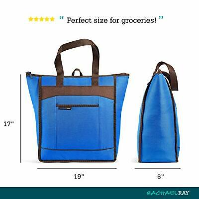 ChillOut Thermal Tote Bag for Cold or Hot Food Insulated Reusable 5 Gallon Blue