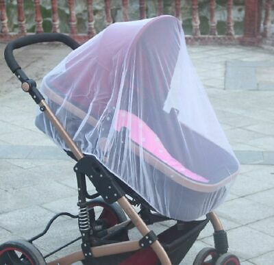 Stroller Mosquito Cover For Baby Net Mesh Pushchair Pram Fly Insect Buggy Care