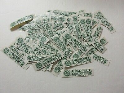 Wholesale Lot =100+Old Pharmacy-Apothecary-Medicine Bottle Labels=