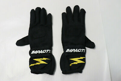 New Impact 31000310 G1 Racing Gloves, Small, Black