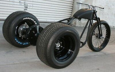 2020 Custom Built Motorcycles Bobber  MMW OG DRAG STYLE   SOFTAIL  TRIKE WITH 23 FRONT AND FAT BACK TIRES