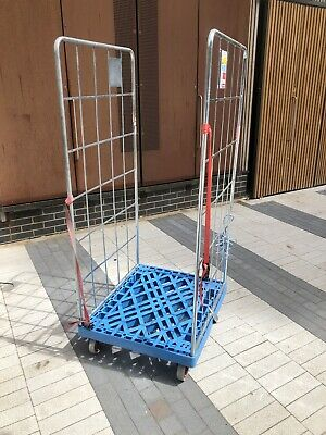 Plastic Dolly With 2 Removable Sides . 500 Kg 28 X 32 Inch ( Plastic Cage ) #001