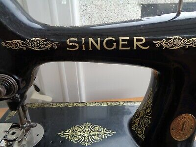 Vintage  Singer 99K Sewing Machine.head Only  For Spares Repair Working