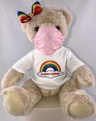 💙NHS KEY WORKER SUPERHERO  Teddy bear T-SHIRT PPE 10% Donation to CHARITY💙💙