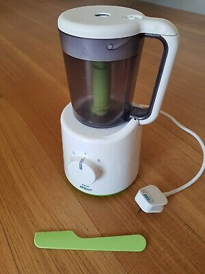 Philips Avent Combined Baby Food Steamer & Blender Fresh Processor RRP £114.99