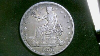 Beautiful 1876-s Trade Dollar see pics of coin (#1076)