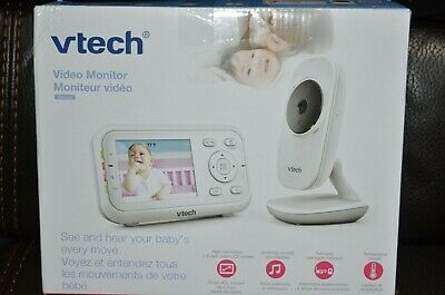 OPEN BOX  VTech Digital Video Baby Monitor VM3252 Automatic Night Vision