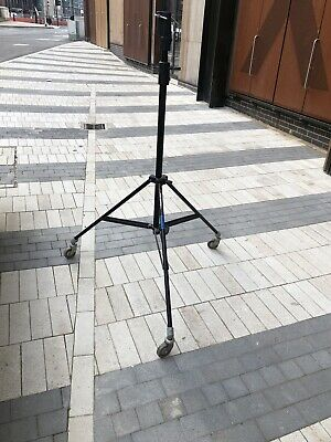 MANFROTTO ART 008 HEAVY DUTY WHEELED LIGHT STAND For BOOM ARMS, BACKDROPS Etc #9