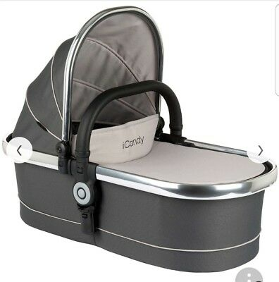 icandy Peach 3 Carry Cot With Hood Truffle