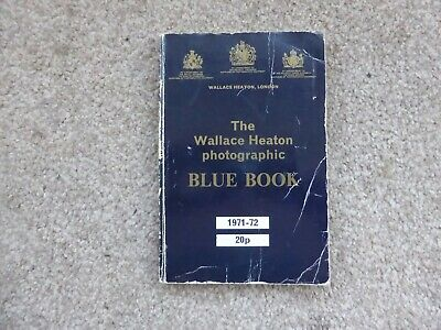 The Photographic Blue Book. 1971 - 1972 Edition