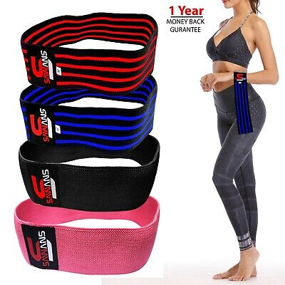SAWANS® Resistance Bands HIP CIRCLE Loop Rotation Glute Elastic Exercise Fitness