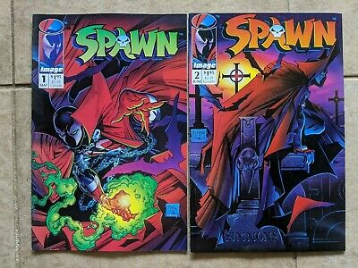 Spawn Issues # 1 and 2 McFarlane