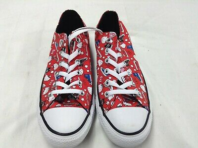 Converse Hello Kitty Womens Shoes red size M6.5/W8.5