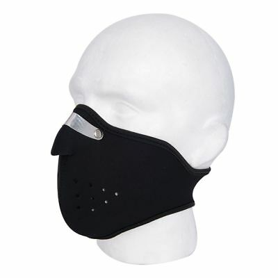 New Motorcycle Motorbike Universal Anti-Fog Thermal Ventilated Mask - Black