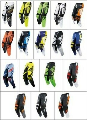Bikeit Ergonomic Pre Curved Fit Shot Comfortable Off Road Motorcycle Bike Pants