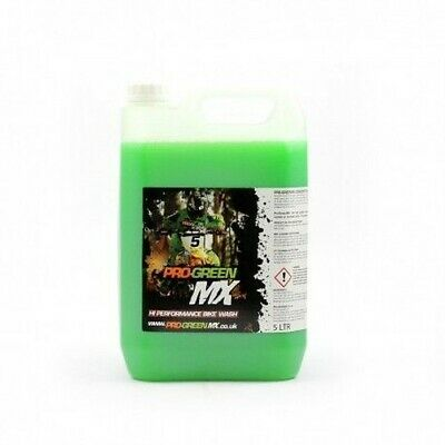 Pro Green MX 5 L ltr Litre Liter Concentrated Wash Motocross Supercross SX Bike