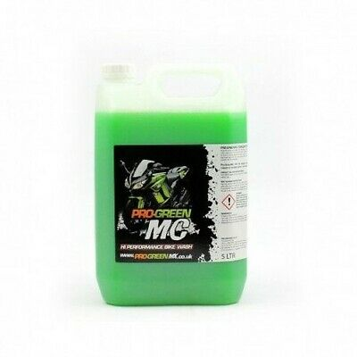 Pro Green MC 5 L ltr Litre Liter Concentrated Bike Wash Motorcycle Road bike