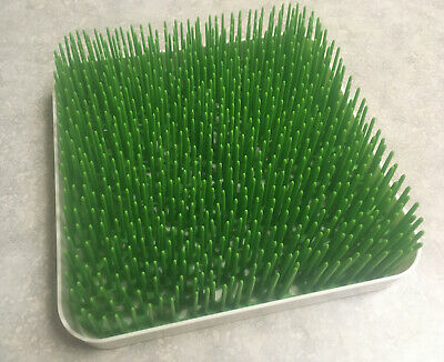 Boon Grass Counter Top Drying Rack Baby Bottles Glasses Green Dishwasher Safe