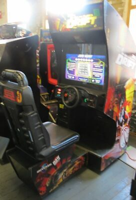 THE FAST AND FURIOUS DRIFT SIT DOWN ARCADE GAME Shipping Available