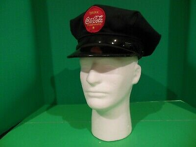 Coca Cola Driver Salesman Uniform Brimmed Hat