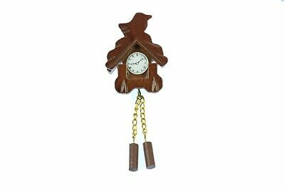 Cuckoo Clock Brooch Wall Clock Black Forest Miniblings Pin Oktoberfest Br
