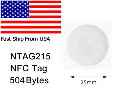 Wholesale NTAG215 NFC Tags Blank Stickers RFID TagMo Compatible Amiibo Android