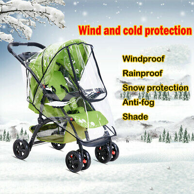Pushchair Wind Shield Pram Raincoat Stroller Rain Cover Baby Accessories