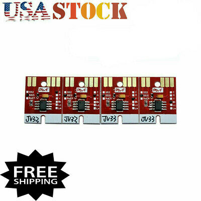 US Stock Wholesales Chip Permanent for Mimaki JV33 SS21 Cartridge 4 Colors CMYK