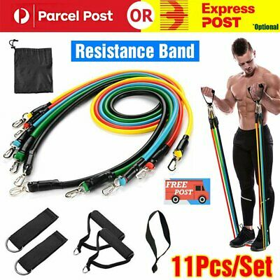 5Pcs Yoga Strap Resistance Bands For Home Gym Training Fitness Exercise Elastic
