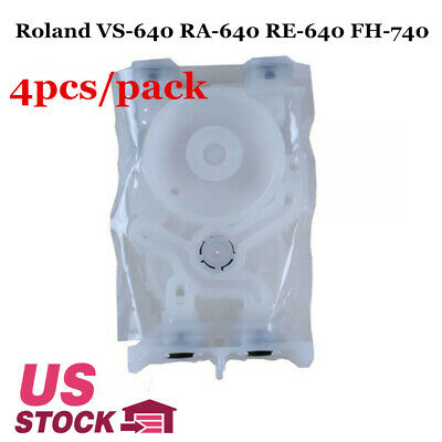 4pcs Roland VS-640 / RA-640 / RE-640 / FH-740 Original Epson Damper -1000006526
