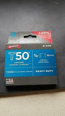 Arrow Staples T50 10Mm 3/8""