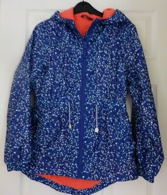 SUPER GIRLS SPRING, HOODED RAIN JACKET by GEORGE, AGE 12 - 13 YEARS