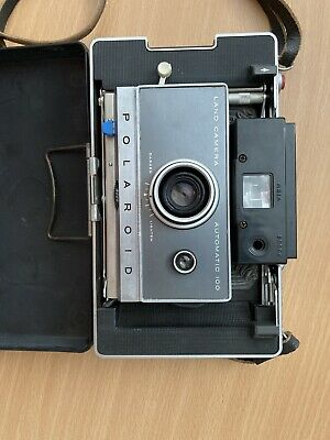 Polaroid Land Camera Model 100, excellent condition, with case and strap