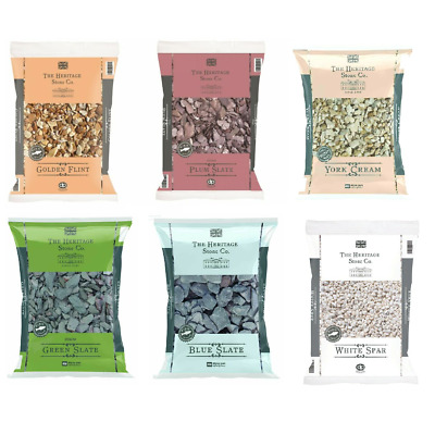 Bags Slate Decorative Chips Chippings Pebbles Garden