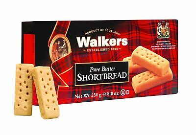 Walkers Pure Butter Scottish Shortbread Fingers 250g - Made in Scotland