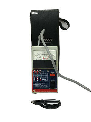 Ecos Model 1020-1 Electrical Safety Analyzer With Transport Case TESTED