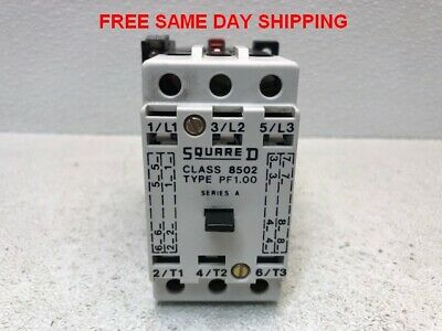 Square D Contactor Class 8502 Type Pf1 Item 748290-B4