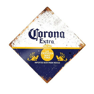 CORONA EXTRA Beer Mexico Metal Retro 20cm Plaque Pub Shed Bar Man Cave Door SIGN