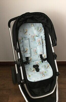 Peter rabbit PRAM LINER harness covers pushchair stroller hand made new padded