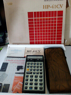 Calculadora/Calculator HP Hewlett Packard  41-CV 41 CV (Very good condition)