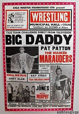 Excellent Wrestling Poster (See Photos)