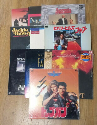 10 x Japanese Laser Discs (Man Cave Wall Art!)