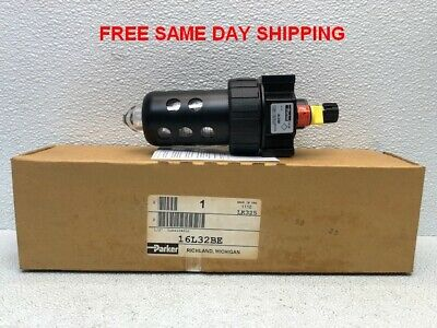 Parker Pneumatic Lubricator 16L32Be Item 748301-B4