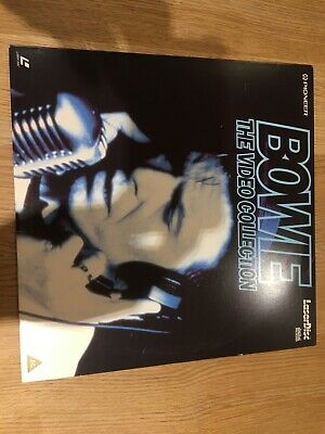 Bowie The Video Collection PAL Laserdisc