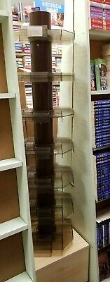 used retail store fixtures - Lot of 2 Revolving Book Spinner Display Racks