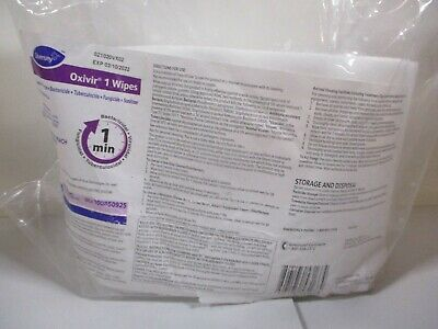 "Diversey Oxivir 1 Wipers, One Minute,11""x12"", 160-ct Pack 100850925"