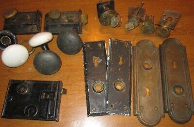 Vintage Door Knobs, Door Plates, & Locks