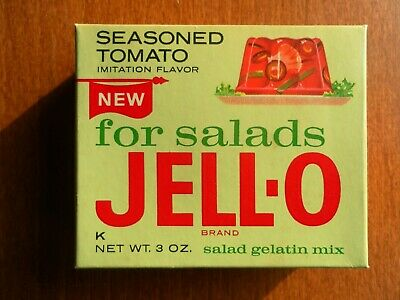 Vintage Jello Box Seasoned Tomato Flavor