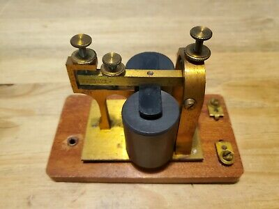 JH Bunnell Co. Telegraph Sounder 4 ohms